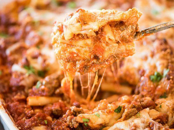 Casseroles sometimes get a bad rep: boring, unoriginal, the easiest thing to bring to the PTA meetings. However, make one of these and you'll be laughing at anyone who ever second-guessed these delicious pans of joy.     Baked Ziti Casserole