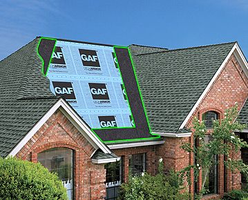 Gaf Roof Leak Barriers Ice Dam Protection Protect Your