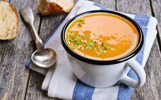 zencefilli bal kabağı çorbası
