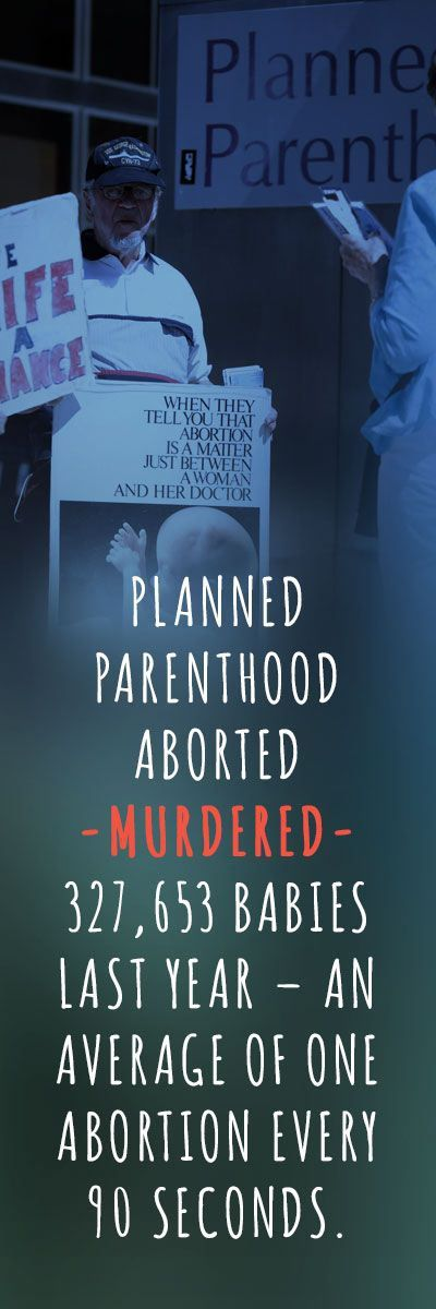 Planned Parenthood or Planned Genocide?  In Defense of the Defenseless.
