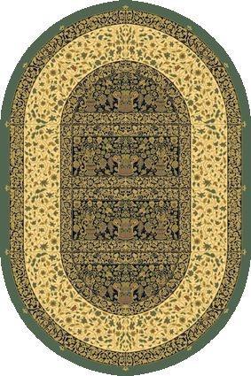 Dywan Dywilan Eden Witraż Szmaragd (owal) www.arte.pl