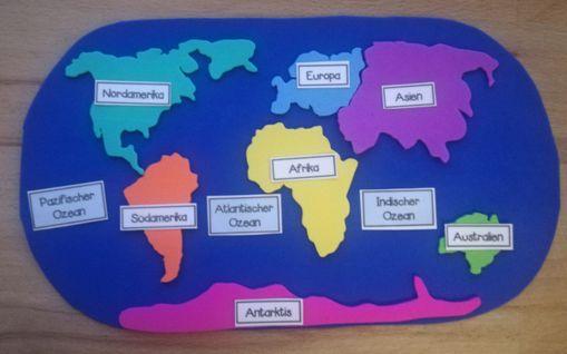 Kontinente Und Weltmeere