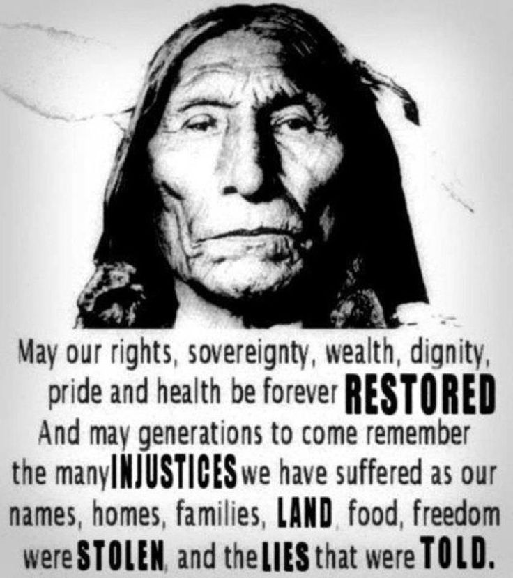 Rights and Freedoms stolen from Native Americans by the U.S  government.  Lessons should be learned by all.