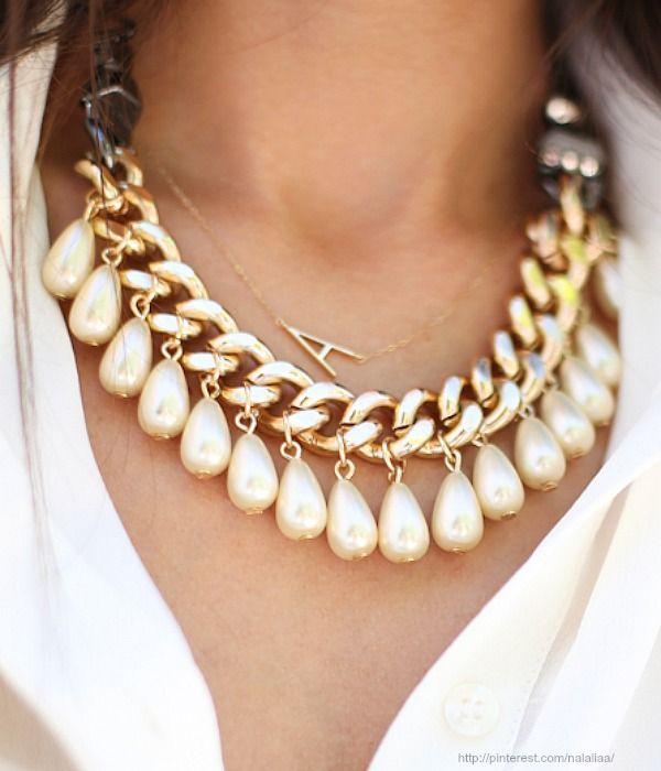collar de gotas