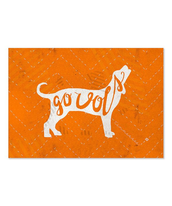 Look at this Tennessee Volunteers Mascot Wrapped Canvas on #zulily today!