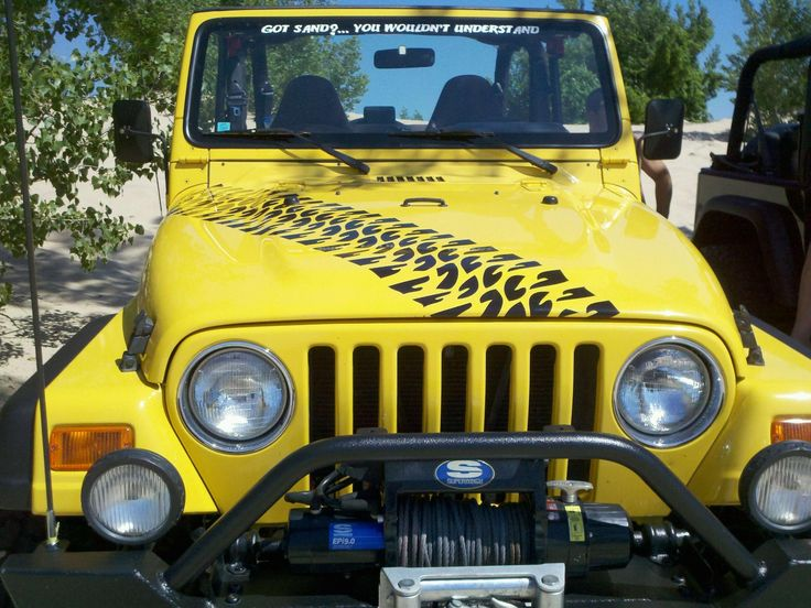 Jeep Wrangler Hood Stripe With Tire Track Decal Sticker Mini - Jeep hood decalsall that wander are not lost compass jeep hood decal sticker