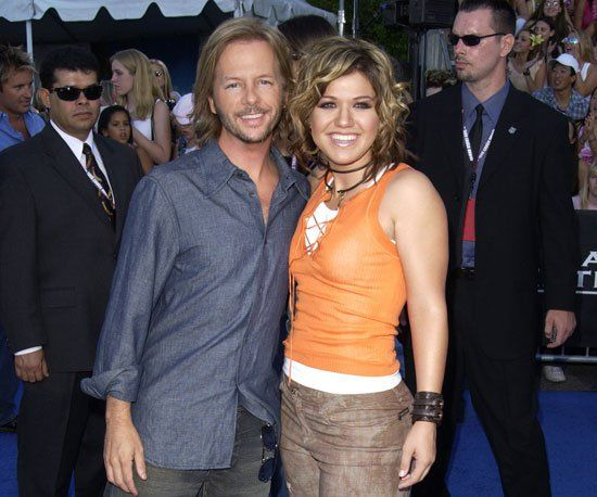 Pin for Later: A Look Back at the Best of the Teen Choice Awards  David Spade snapped a photo with American Idol winner Kelly Clarkson before the 2003 show.