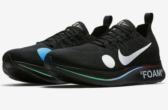newest 890c9 dbf16 Official Images: OFF-WHITE x Nike Zoom Fly Mercurial Flyknit Black The OFF-