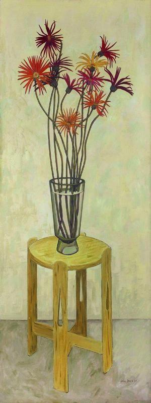 John Brack. Gerberas, 1957