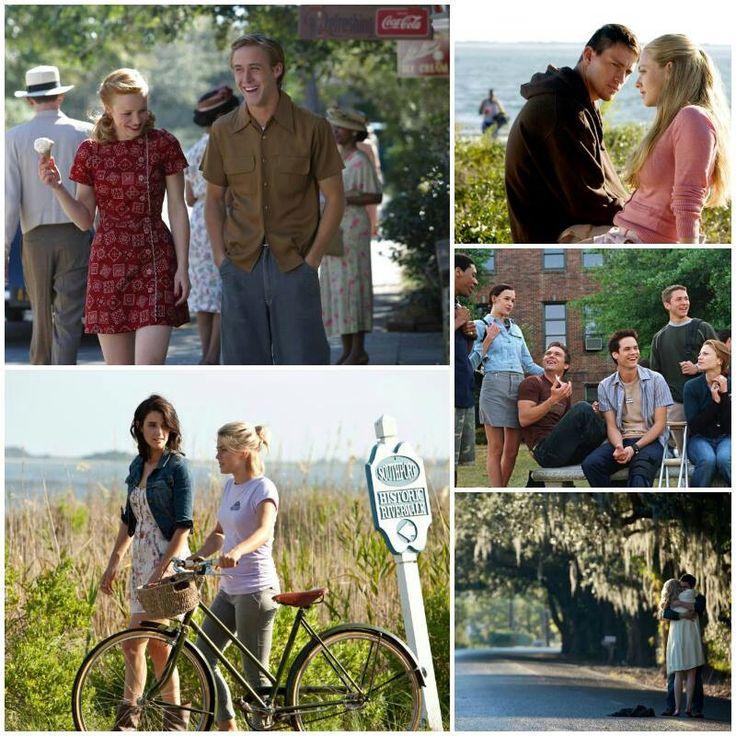 Nicholas Sparks movies...luv them all :)