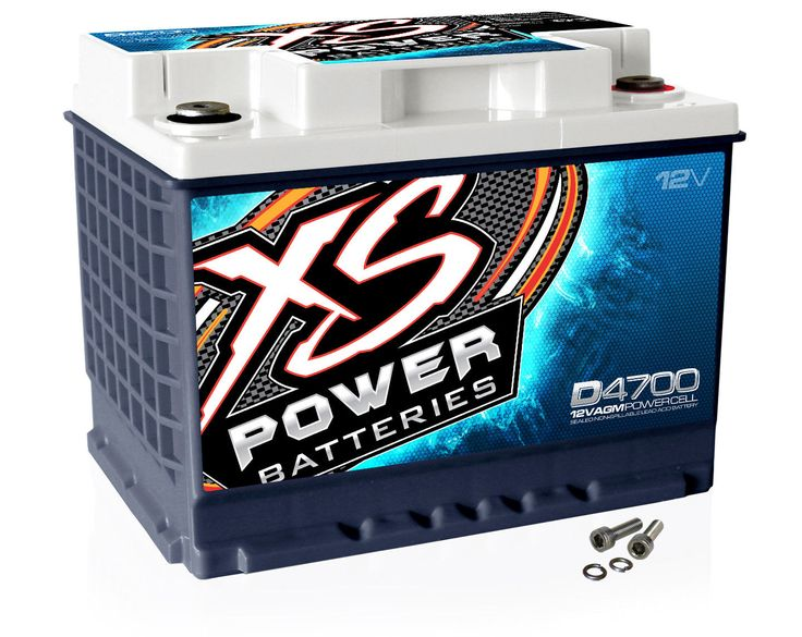 Terminale XS Power D4700 12 Volt AGM 2900 Amp Car Audio / Batteria + Terminale | eBay