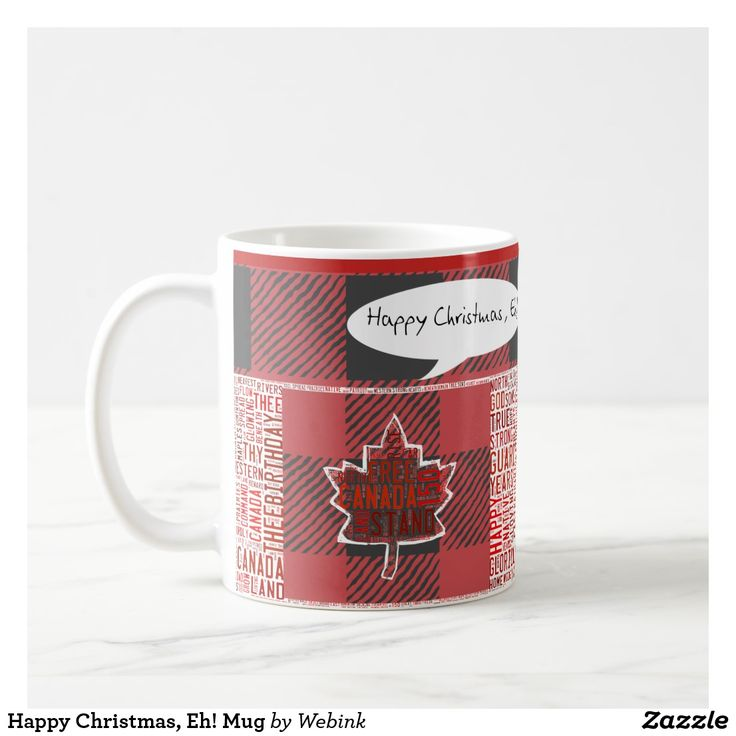Happy Christmas, Eh! Mug
