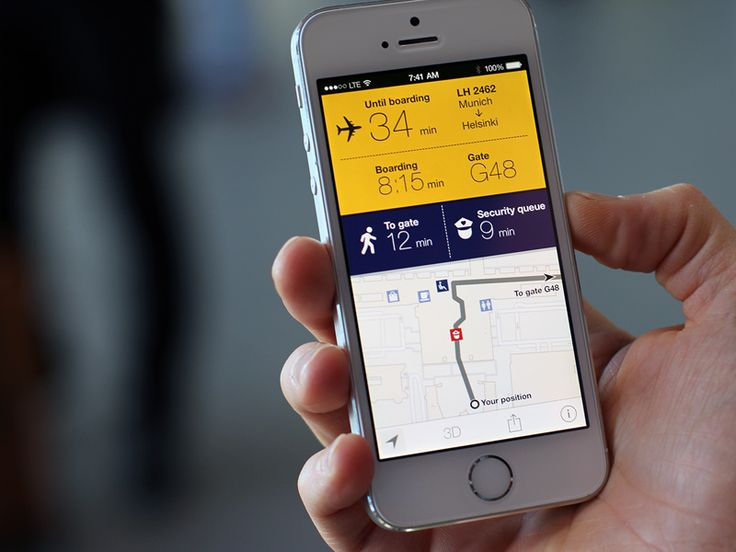 Insight: To many people airports are stressful due to a lack of orientation and time predictability – even more so when changing planes.  Solution: The Lufthansa Travel Companion provides indoor ma...