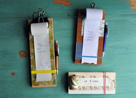 How-Tuesday: Make a Hanging Notepad