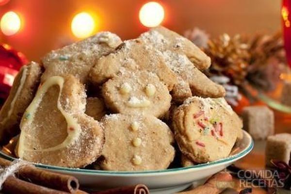 Receita de Biscoito de natal - Comida e Receitas