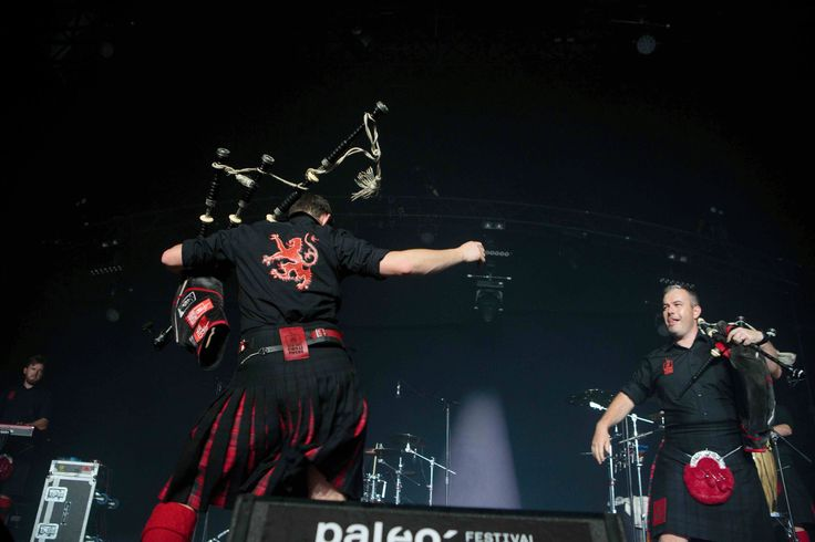Red Hot Chilli Pipers @ Paléo 40+1