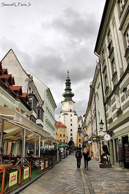 Bratislava, Slovakia - it's probably one of the most uderrated capital cities in Europe