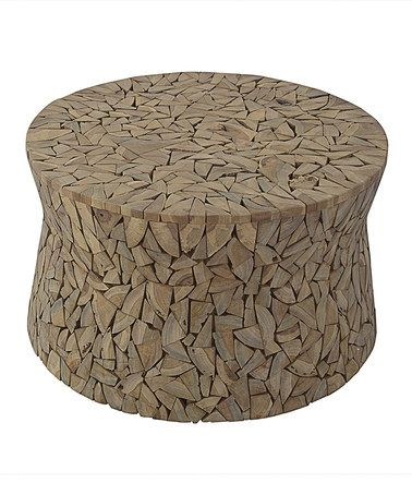 Look at this #zulilyfind! Mosaic Driftwood Coffee Table #zulilyfinds