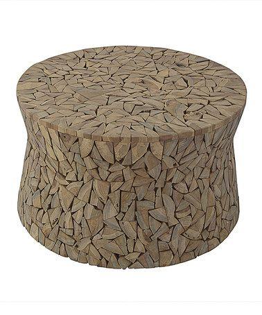 Look at this #zulilyfind! Mosaic Driftwood Coffee Table #zulilyfinds