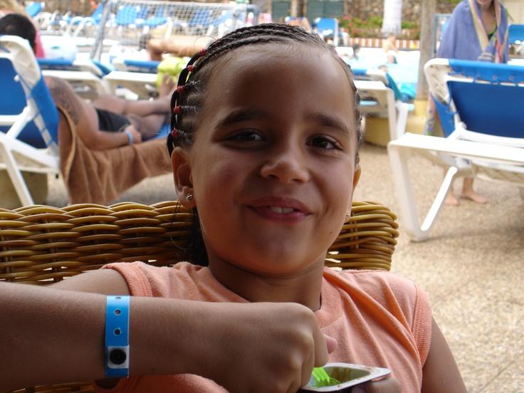 Mi hija Andrea <3 en 2005