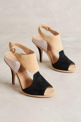 Aerin Opal Heels Black Motif Heels #anthrofave #anthropologie