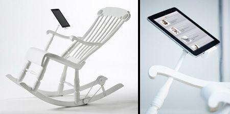 iPad Rocking Chair - Vaya con la silla!!! ^_^