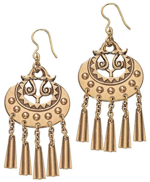 Kalevala jewelry, Kuutar korvakorut.