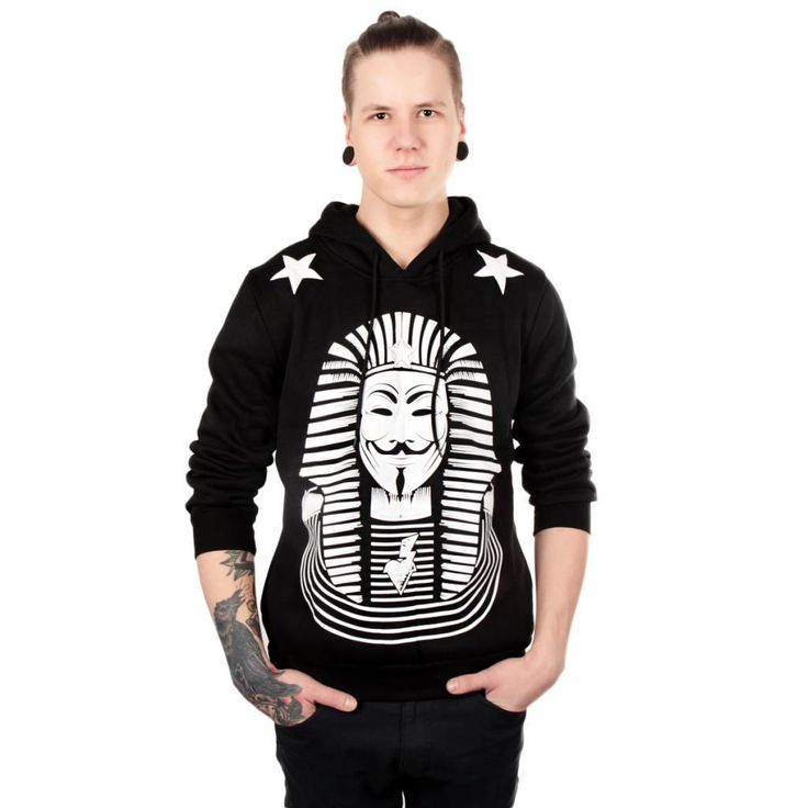 Awesome Anonymous Pharao Hoodie for Guys!