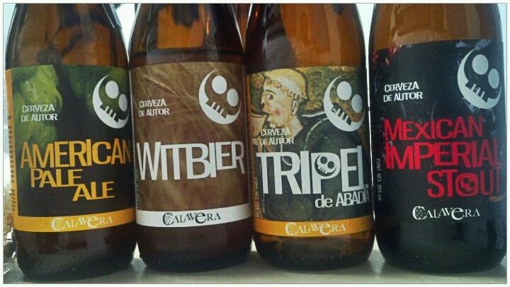 Cerveza #Calavera Excelente Sabor y Excelente Maridaje cc: @calaverabeer @ElGeektor @Orfeon_Digital @Phish_SL @joselo1002