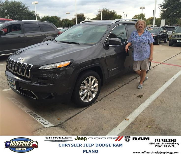 https://flic.kr/p/P4U5pZ | Happy Anniversary to Tondra on your #Jeep #Cherokee from Billy Bolding at Huffines Chrysler Jeep Dodge RAM Plano | deliverymaxx.com/DealerReviews.aspx?DealerCode=PMMM