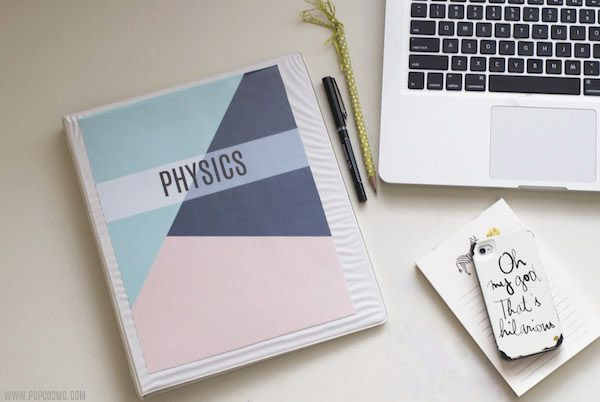 Love these free printables to create custom binder covers. Just grab your favorite Avery View Binder, personalize and print the cover sheet on a blank piece of paper and slip it into your binder cover. So easy!