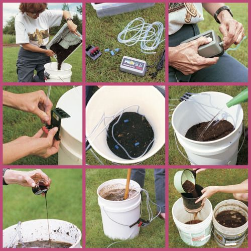 Compost tea is a solution made from traditional or worm compost. It contains billions of microorganisms that help convert soil nutrients and minerals into a form more easily absorbed by plant roots.