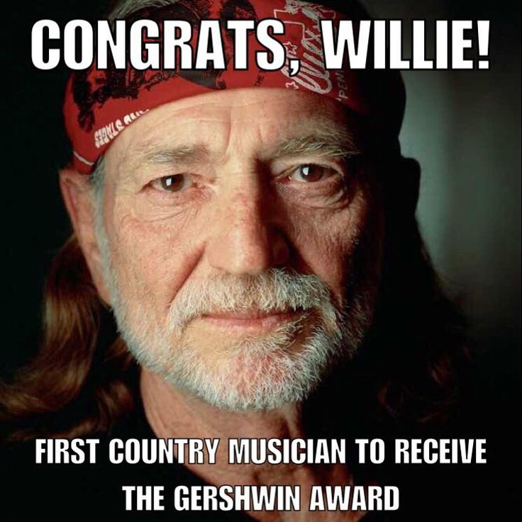 Congratulations to fellow Texan @WillieNelson. Willie will be the first country music artist to receive the prestigious Library of Congress Gershwin Prize for Popular Song. The iconic songwriter and performer will be celebrated at an invitation-only gala tonight in Washington D.C. His lyrics always make us smile not a bad quality to have. #willienelson #gershwinaward #popularsong #Texan #amazinghumanbeing