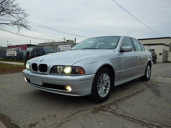 BMW 530i, LOW KM! TWO SETS OF TIRES! LOADED! CERTIFIED! (Toronto, ON) $5995