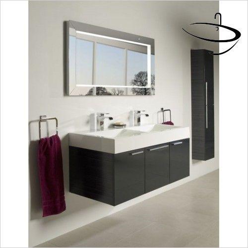 The Roper Rhodes Affinity Designer Illuminated Bathroom Mirror