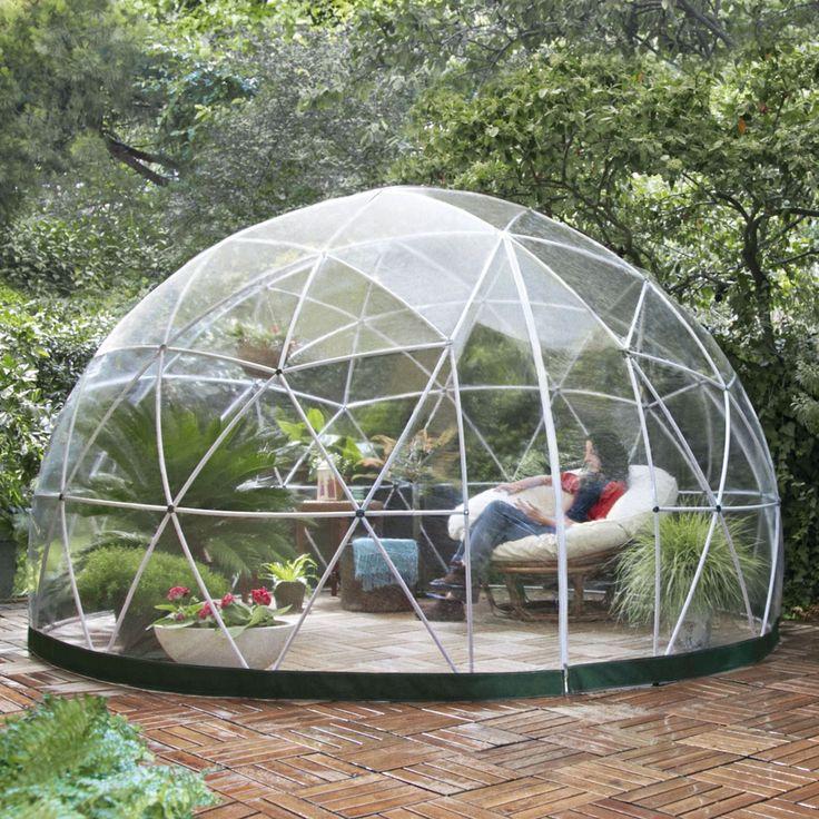 garten iglu pavillon gew chshaus garden igloo four seasons garten wishlist. Black Bedroom Furniture Sets. Home Design Ideas