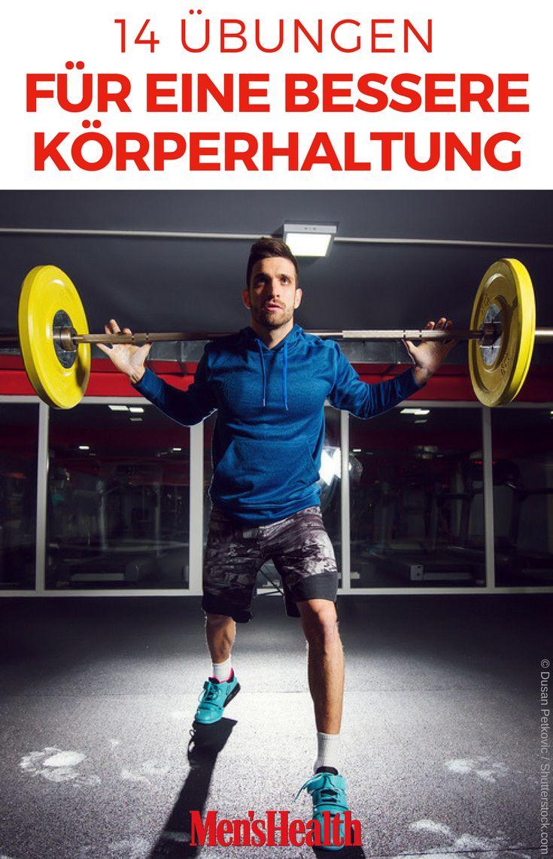 14 Übungen für eine bessere Körperhaltung – Men's Health Deutschland