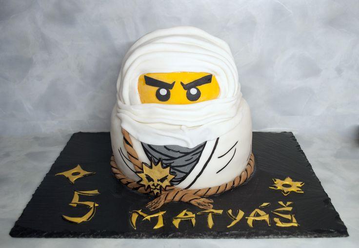 Dort ninja z Ninjago - Zane. Ninjago Cake - Ninja Zane.