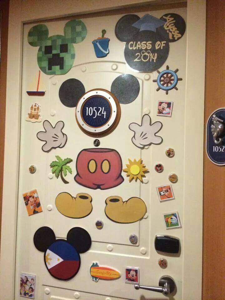44 best Disney Cruise Cabin Door Decor images on Pinterest ...
