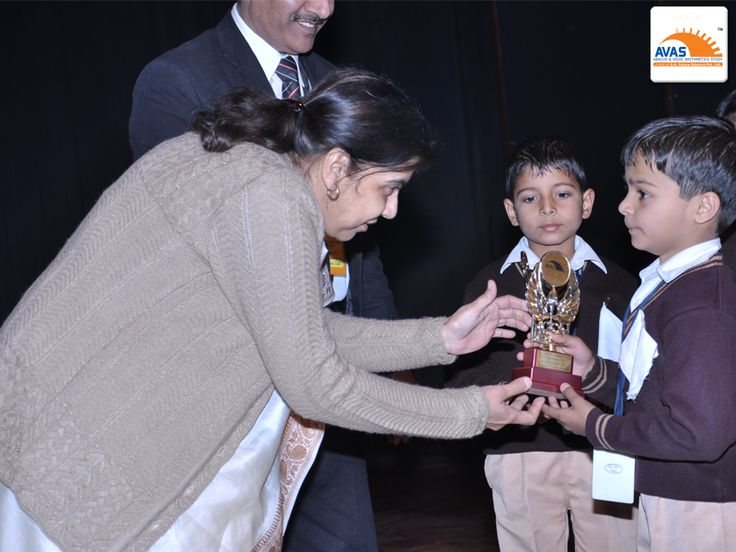 National Winner awarded by Addl director of Education
