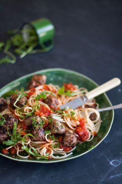 Spaghetti Meatballs Recipe | Crush Magazine