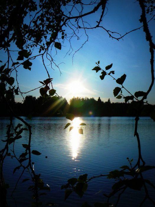 #sunset #finland #kokkola