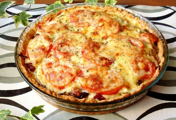 Soltorkade tomater & fetaostpaj