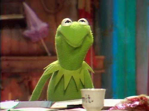 love Kermit's face