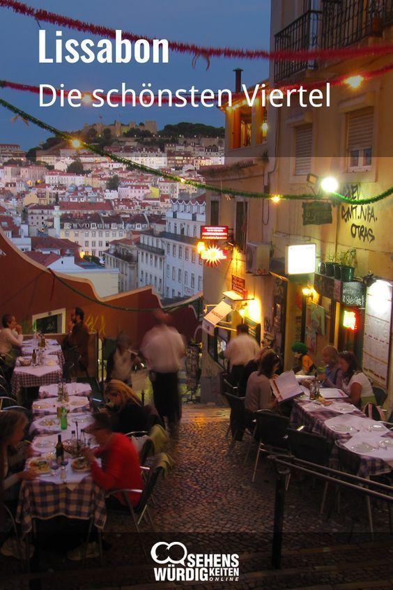 Lissabon mit seinen Vierteln voller Charme und Cha…