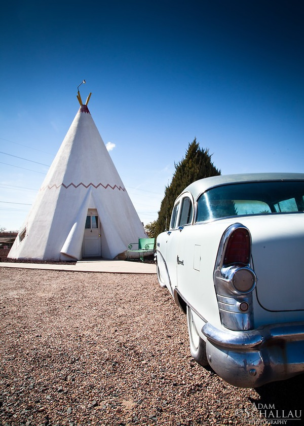 Wigwam Motel in Holbrook, Arizona on old Route 66.