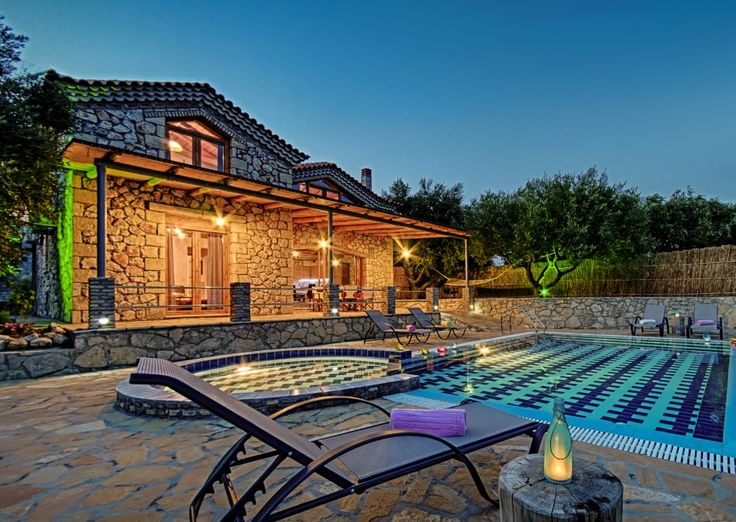 Luxurious Villas Tireda are located in the picturesque tourist resort of Keri's Lake (Limni Keri). Each Tireda villa is a stonebuilt piece of art made with attention to detail and respect to the traditional architecture of the island. The villas occupy a spectacular position as they offer breathtaking views to the Ionian Sea and the beautiful surroundings of the area.