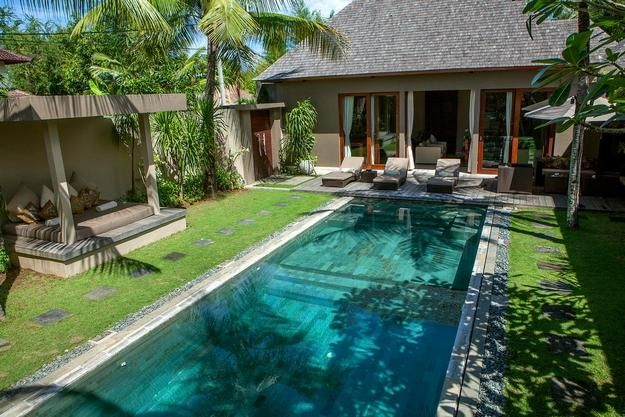 home design minimalis balinese home design with swimming