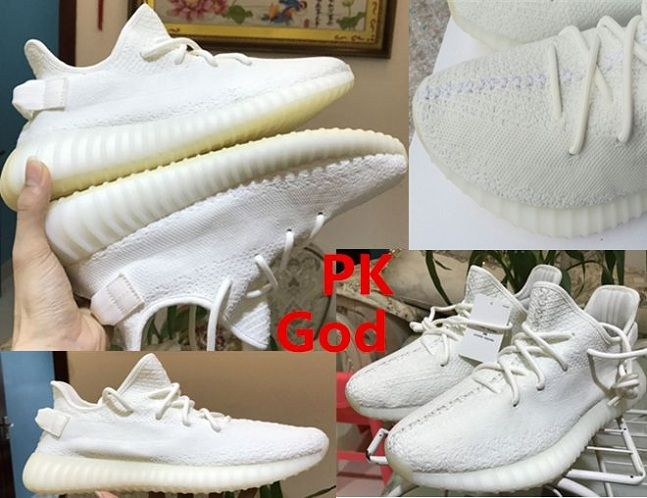 27d884a7c38be Adidas yeezy boost 350v2 basf cream white basf CP9366 from PK factory  original for sale online release pk legit check review