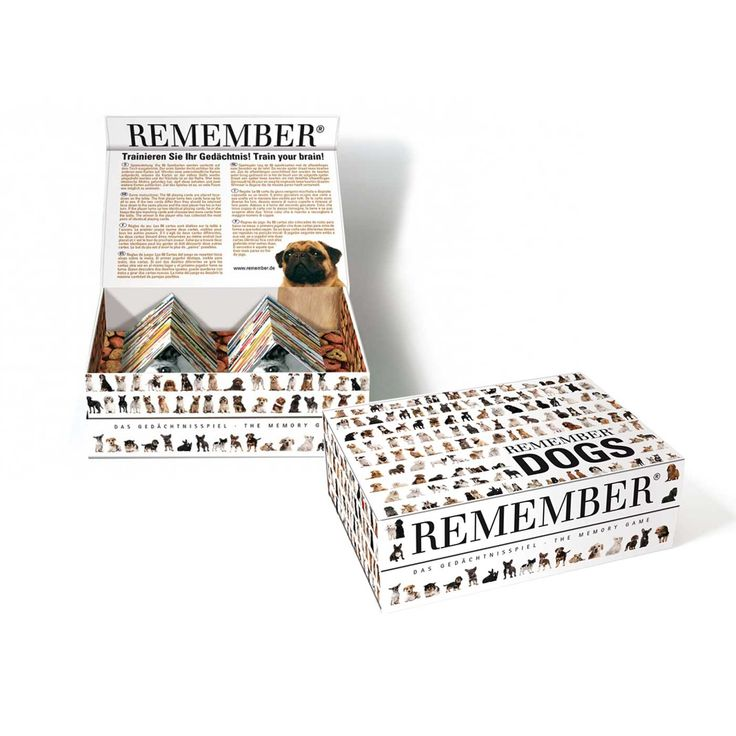 Игра на память Remember Dogs